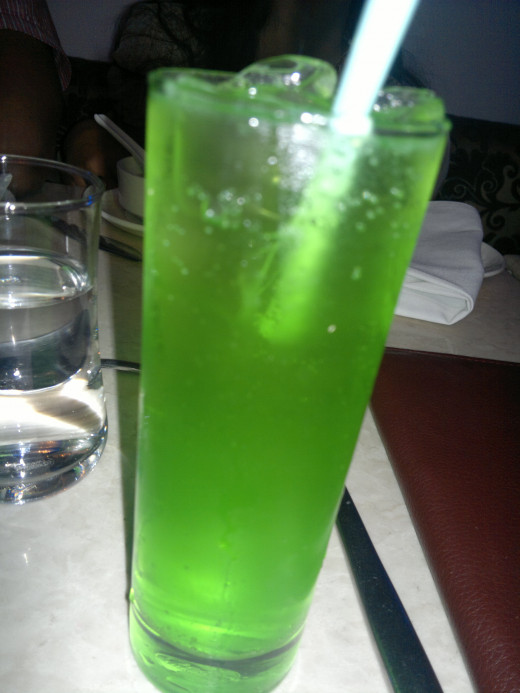 Chilled Mocktail example II