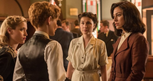 A scene from TV Show Las Chicas del Cable