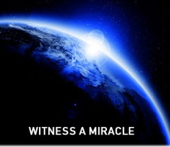 Yes, there is a religious miracle you can physically see