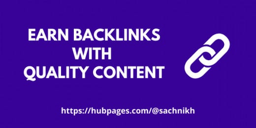Generate good backlinks with quality content