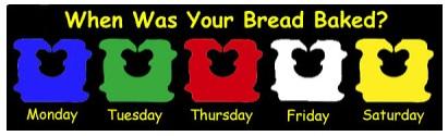 Bread tag codes