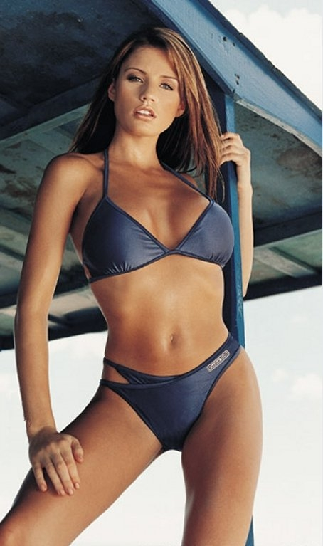 A stunning bikini can certainly make a personal statement!