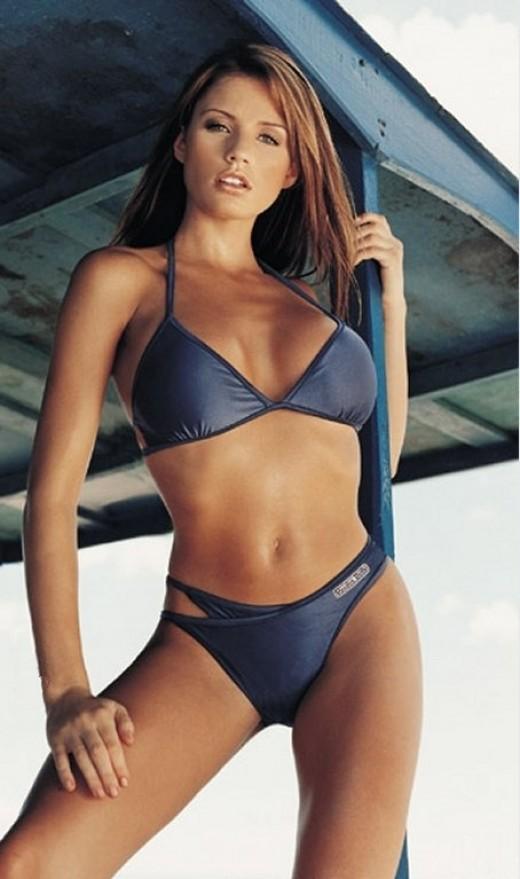 A stunning bikini can certainly make a personal statement!