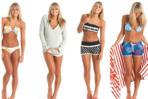 There is an enormous variety of ladies swimwear available.