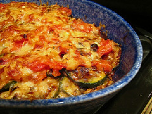zucchini parmesan zucchini parmesan parmesan zucchini recipe food ...