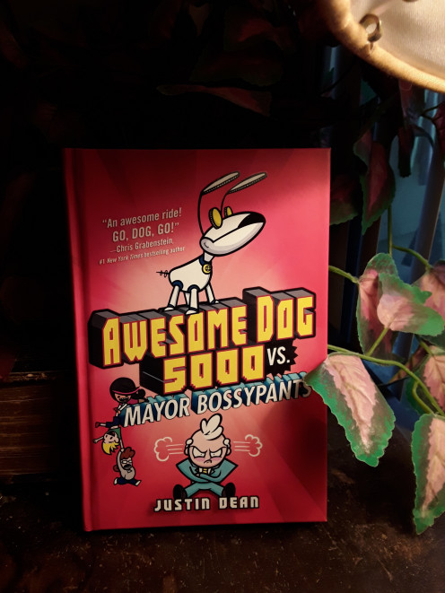 Fun new read in a chapter book for fans of Justin Dean and Dog Man