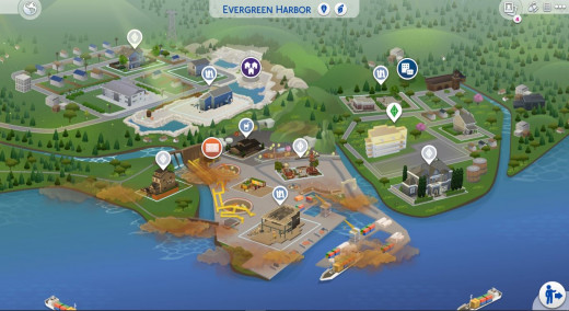 """The first industrial world offered by """"The Sims 4"""""""