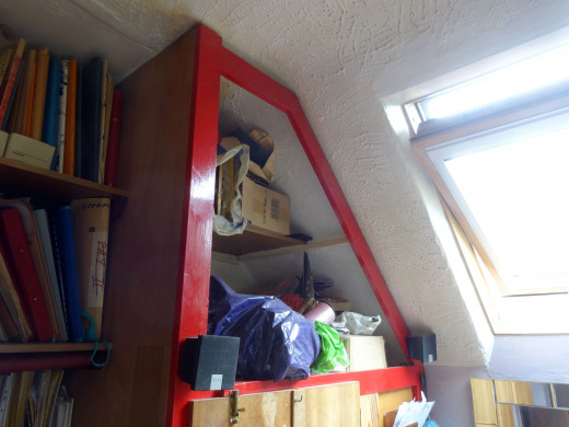 This was the cupboard before I made any modifications.