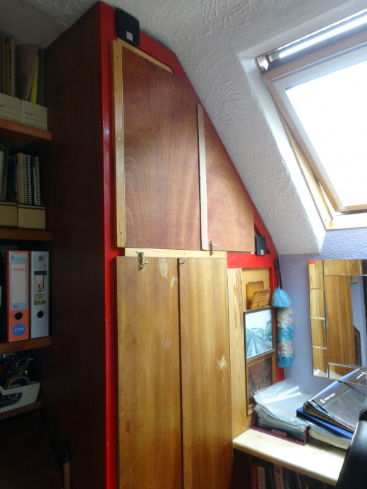 New folding door fitted.