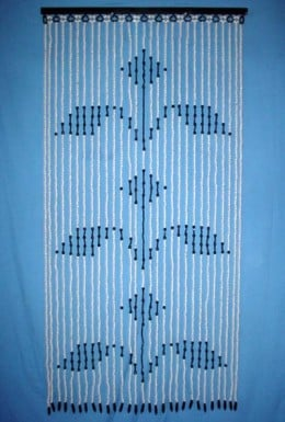The designs of beaded bamboo curtains can be very attractive.