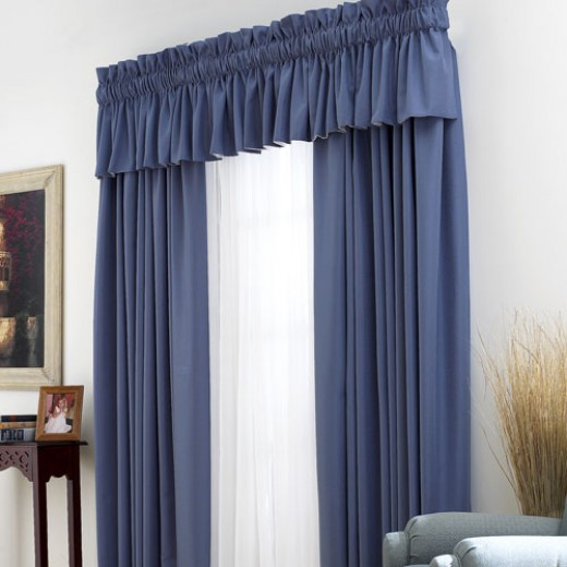 Thermal Drapes can be attractive and add to any home's décor