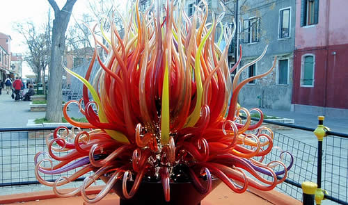 This may not be a vase, but it's Murano artistry at its zenith!