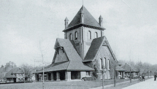 All Souls Church, circa 1900.