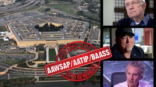 Advanced Aerospace Threat Identification Program (AATIP) was started in 2007 after then Senate Majority Leader Harry Reid (top) oversaw the passage of secret legislation. Luis Elizondo (Middle). Robert Bigelow (bottom).