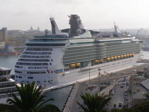 The Navigator of the Seas in Valetta, Malta