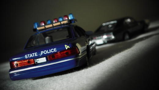 Police love a good car chase, do not tempt them.