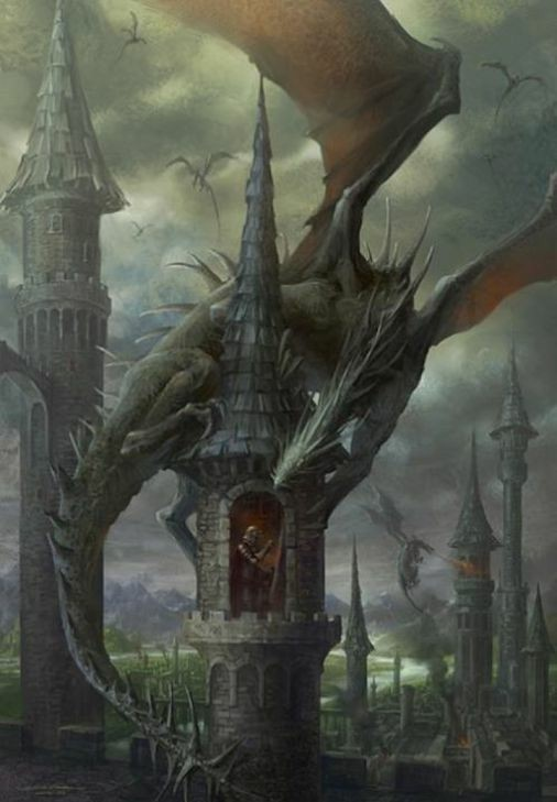 Discuss the particular dragons in your girl's life, if she's up to it. Work to be non-judgmental and patient while she lashes out at them. Get her to let you help her fight them. It will be an adventure to remember, I promise.