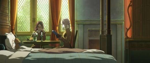 Violet Evergarden tutors Isabella to become a debutant.