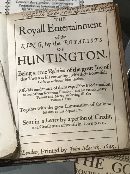 Spot the author on this piece of Roundhead propaganda from the 17th century, England