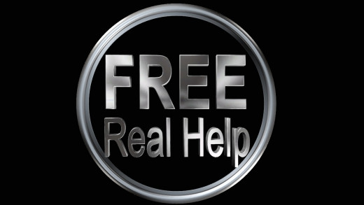 Free Real Help offers you a variety of ways to get what you want and need and it's all for free.