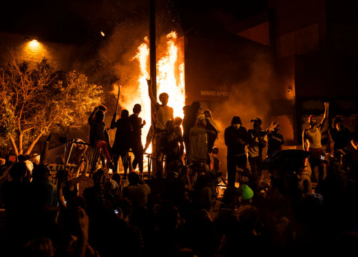 However, the violent nature of some of the protests may damage support for the movement