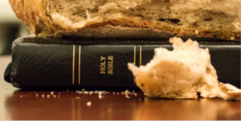 """""""Man does not live by bread alone."""""""