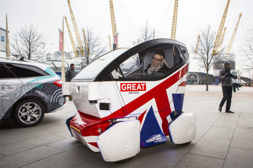 Self driving cars are currently being tested in Milton Keynes, UK. Starting from 2021 some self-driving tech will even be allowed on UK roads.
