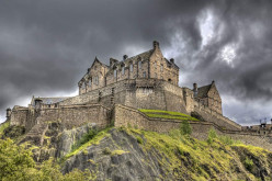 Edinburgh CastleBuilt on Top Of A Volcano