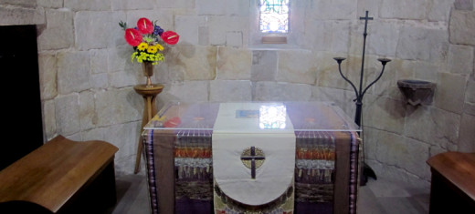 Interior St. Margaret's Chapel