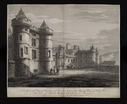 Holyrood Castle 1778