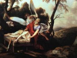 Abraham obeys to sacrifice Isaac