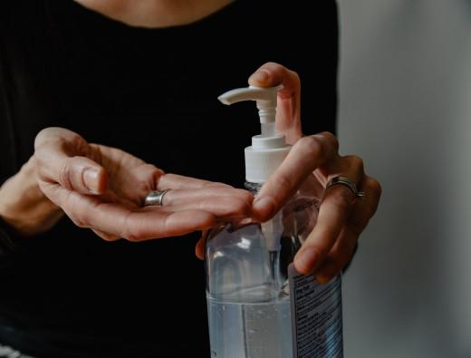 Hand Sanitizer Application