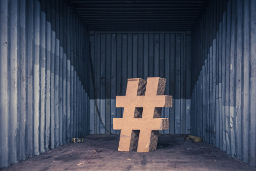 Use relevant hashtags. But not too much.