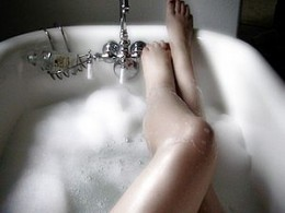 A great way to help you sleep better is to take a relaxing bath.