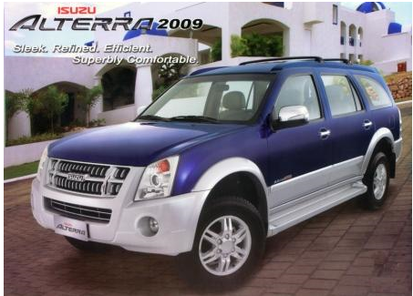 Isuzu Alterra (http://www.auto-searchphilippines.com/images/2009_Blue_Isuzu_Alterra.jpg)