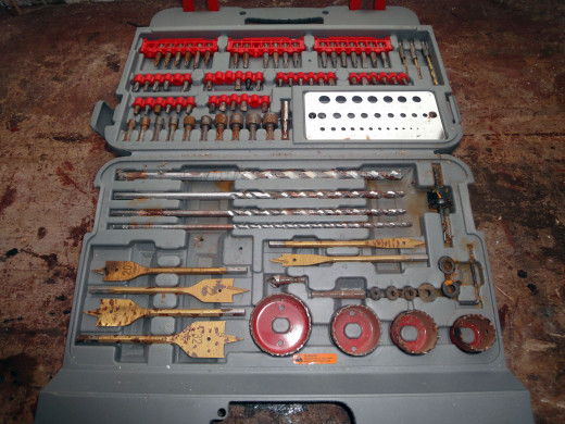 Drill and Screwdriver Bit Set Accessories