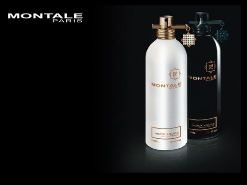Montale White Aoud, a soft rosey version of oud fragrances, and Black Aoud, a more potent oud perfume