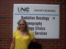 Audrey at the UNC