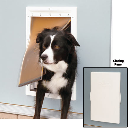 The Extreme Weather Pet Door