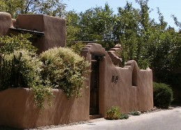 Stay in one of Santa Fe's old neighborhoods close to downtown.