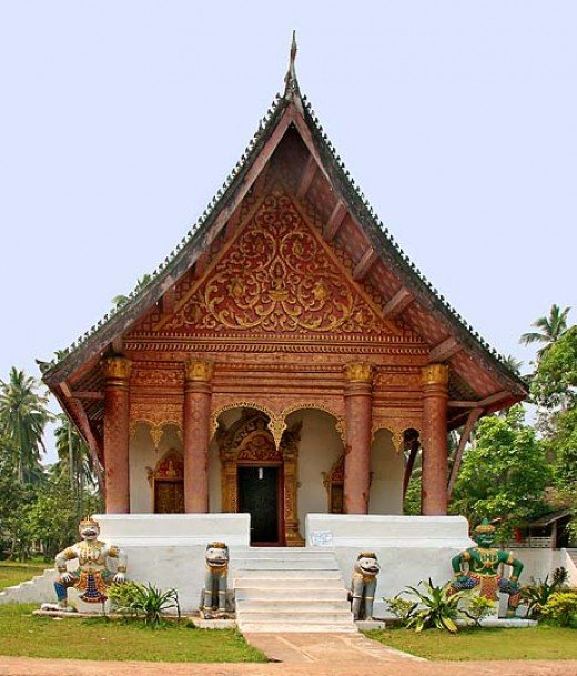 Wat Aham in Luang Prabang