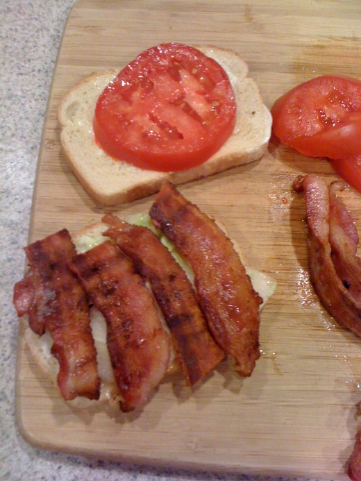 Making a BLT Sandwich