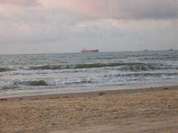 Beach in Freeport, Texas