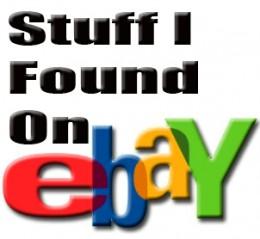stuff I found on ebay