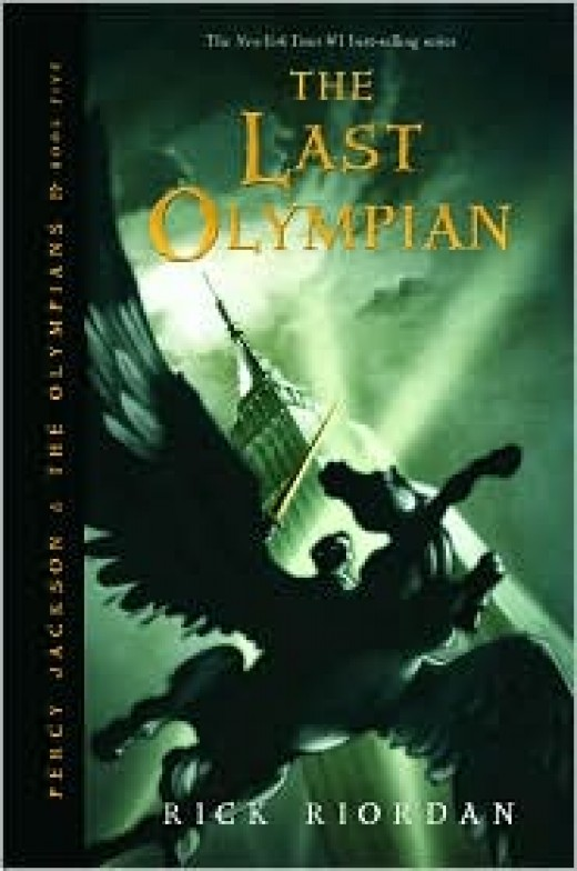 The Last Olympian - Top Ten Childrens Books