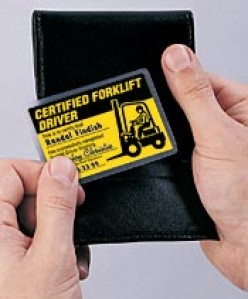 Forklift Certification and OSHA regulations