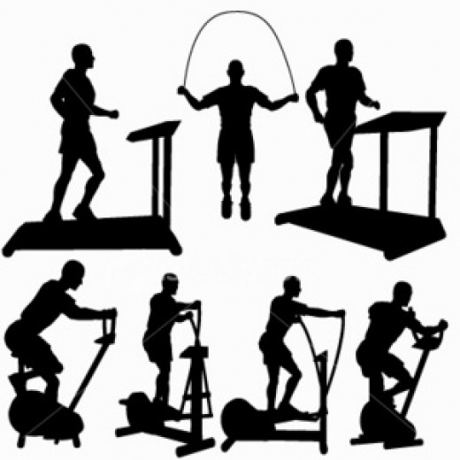 Cardio exercises chart