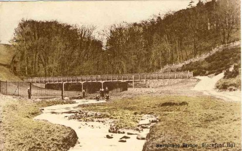 The Hermitage Bridge, Blackford Hill