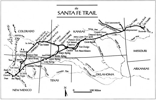 Overland Park caught the traffic entering and leaving the Santa Fe Trail corridor at the Missouri-Kansas border in both directions.