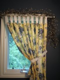 Custom Window Coverings and Treatments -Sewing Whimsical Curtains